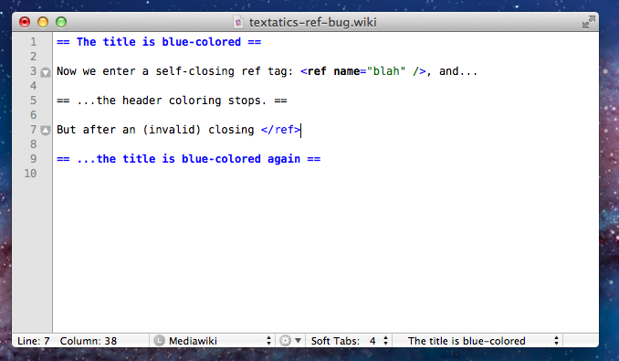 TextMate Screenshot