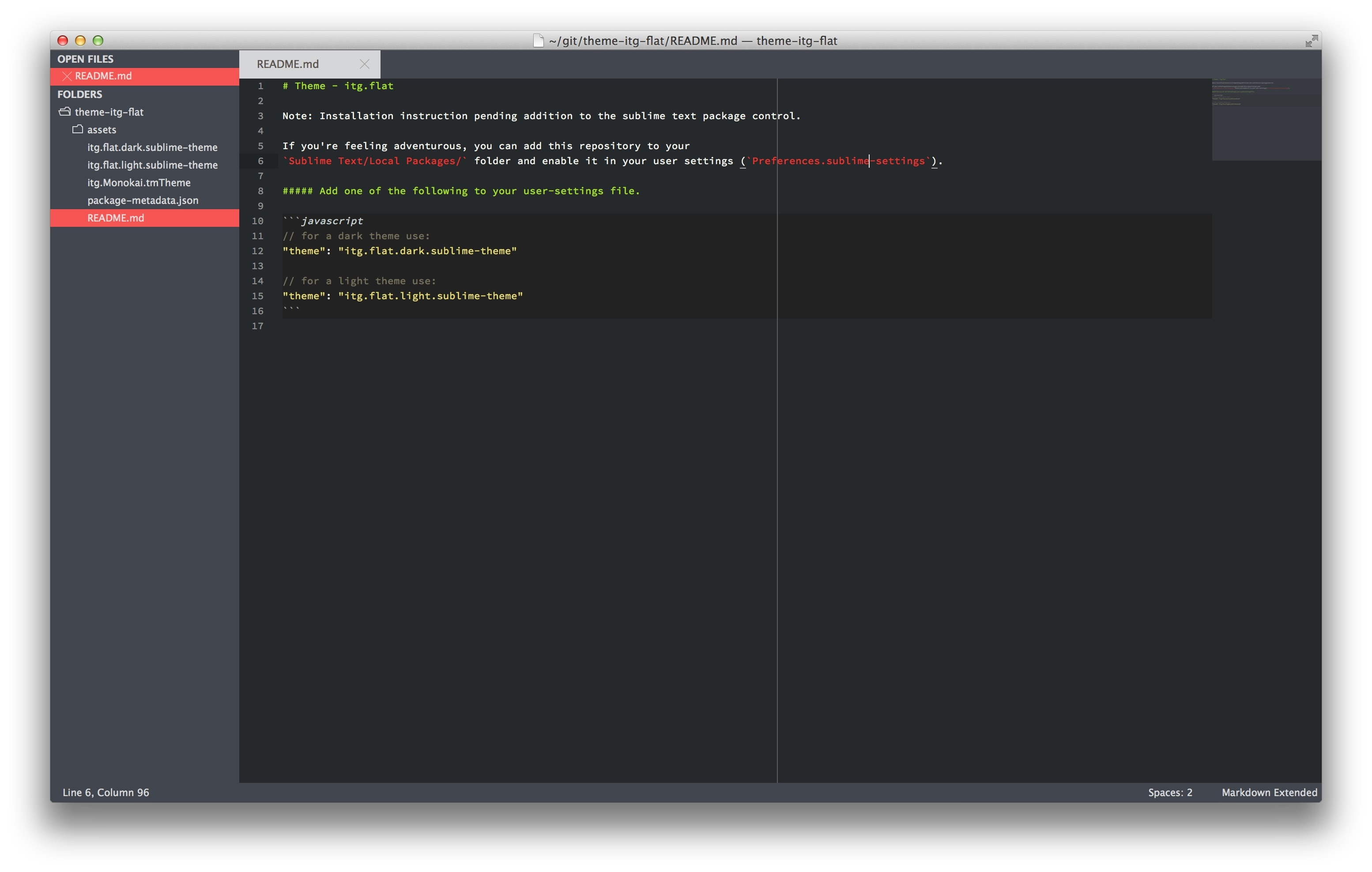 Big List of Sublime Text Themes