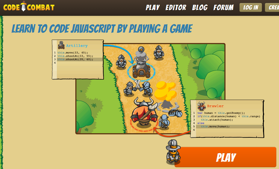 Code Combat Screenshot