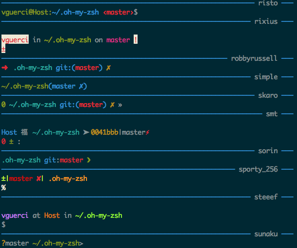 Theme Chooser Foxs Theme By Volpino Pull Request 482 Robbyrussell Oh My Zsh GitHub